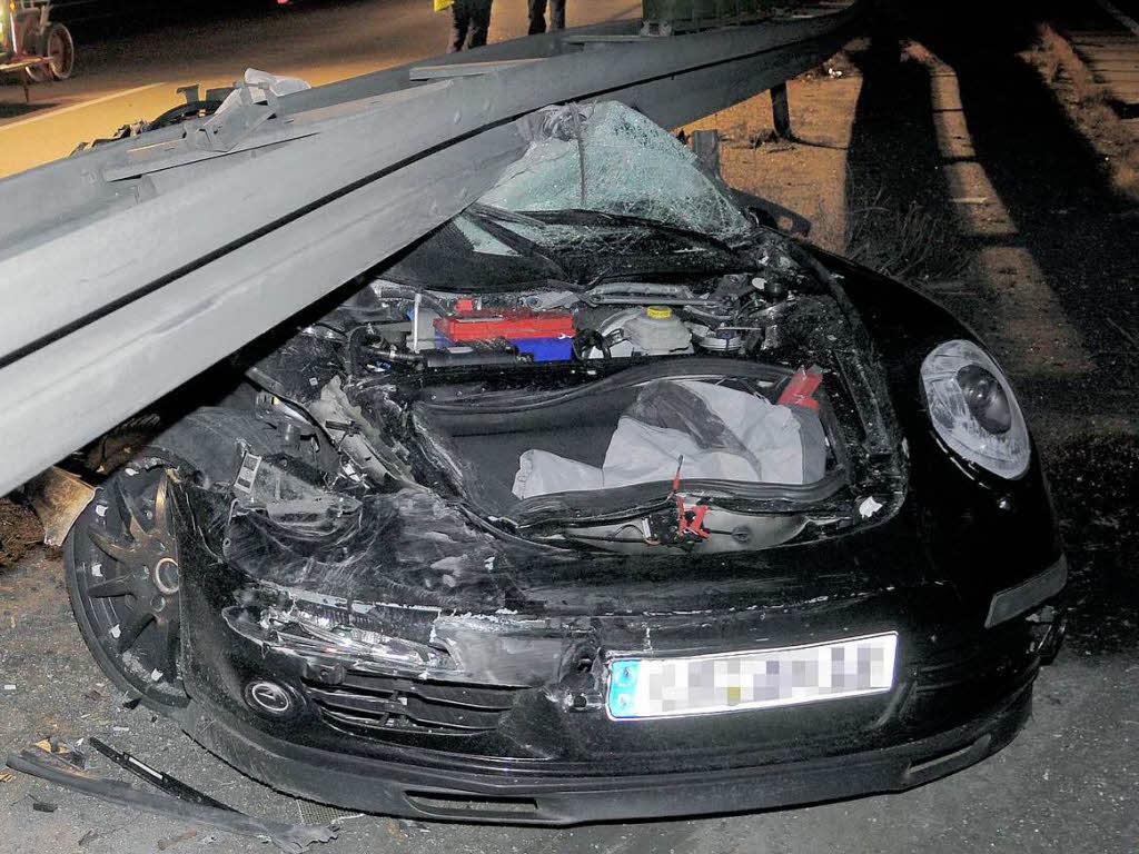 Porsche unfall südafrika bild